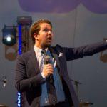 Thomas Warberg vært til Event Fabrikken koncert
