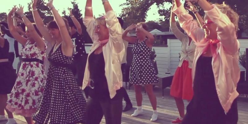 Grease danselektion